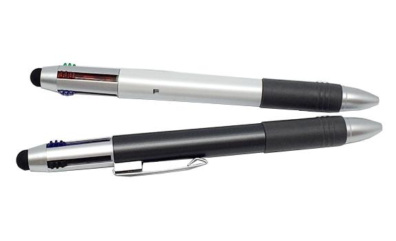 Multicoloured Retractable Stylus Ball Pen