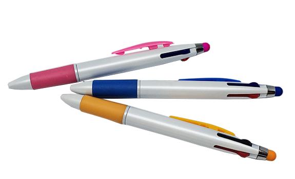 Multicolored Retractable Stylus Pen