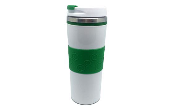 Green & White Tumbler