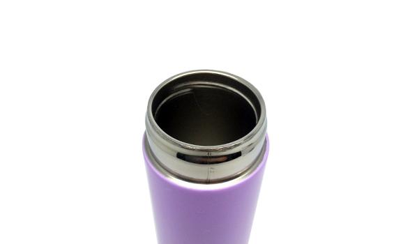 Violet Steel Tumbler w/ Handle
