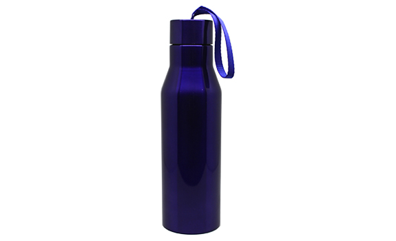 Dark Blue Steel Tumbler
