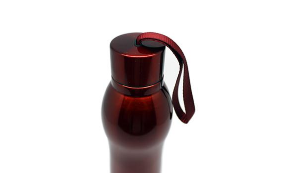 Red tumbler bottle